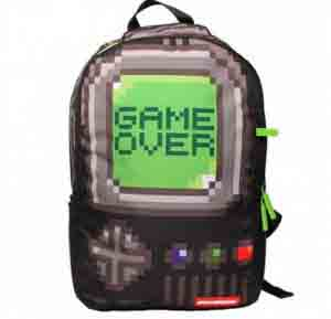 mochila-SPRAYGROUND-para-kings-Sneakers-Game-Over